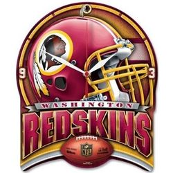Washington Redskins Shield Clock
