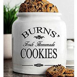 "Custom Ceramic 9"" Cookie Jar"