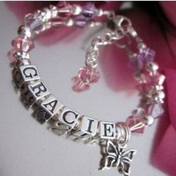 Personalized Gracie Children's Bracelet