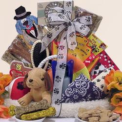 Pamper Your Pooch!: Doggie Pet Gift Basket