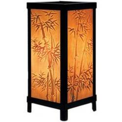 Bamboo Motif Lithophane Accent Lamp