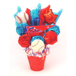 Philadelphia Phillies Cookie Pot Bouquet