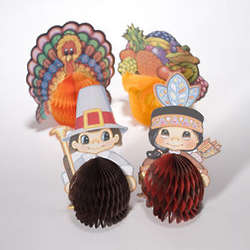 Thanksgiving Character Centerpieces