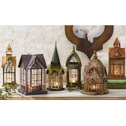 Architectural Candle Lantern
