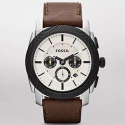 Machine Leather Watch