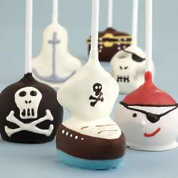 6 Handmade Pirate Chocolate Cake Pops