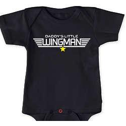 Daddy's Little Wingman Bodysuit