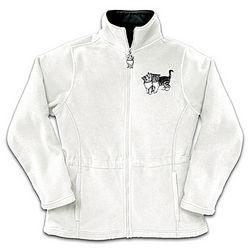 Cat Themed Reversible Women's Fleece Jacket