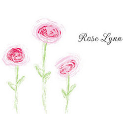 Personalized Roses Notecards and Envelopes