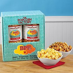 Banana and Peanut Butter Popcorn Gift Box