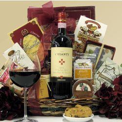 Cecchi Chianti Housewarming Wine Gift Basket