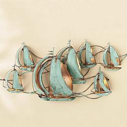 Sailboat Supreme Wall Sculpture