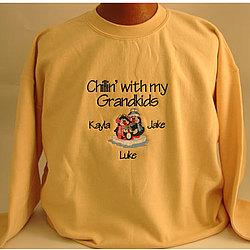 Chillin' Personalizd Family T-Shirt