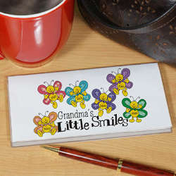Personalized Little Smiles Checkbook Cover