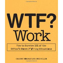 WTF? Work Paperback Book