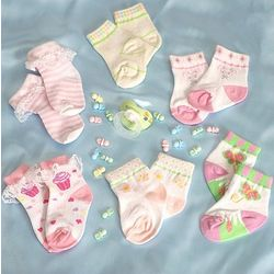 Infant Girls Socks Set