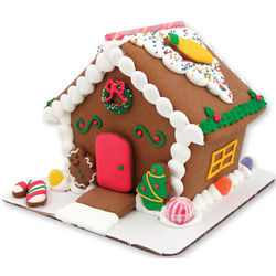Sweet Christmas Gingerbread Home