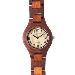 Mens' Wooden Watch
