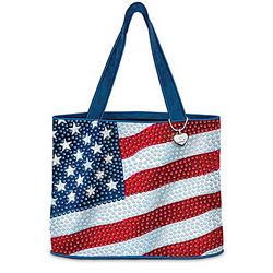 American Sparkle Tote Bag