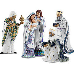 Polish Nativity Set