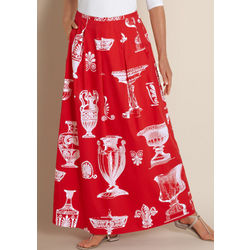 Etruscan Long Summer Skirt