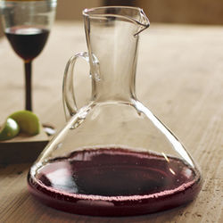 Recycled Glass Decanter