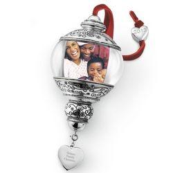 Photo Ball Christmas Ornament
