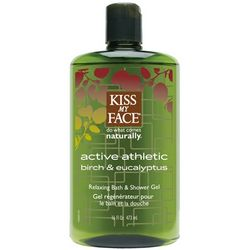 Active Athletic Birch and Eucalyptus Shower Gel
