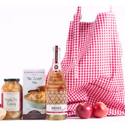 Sparkling Apple Wine and Apple Pie Gift Set