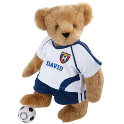Soccer Player Teddy Bear