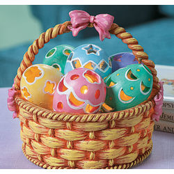 Easter Basket Lamp