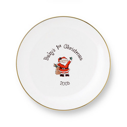 Personalized Children's China Plate
