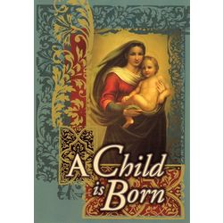 A Child is Born Christmas Cards