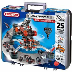 Erector Motorized Racing Car and More Set