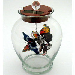 Solar Activated Indoor Butterfly Jar