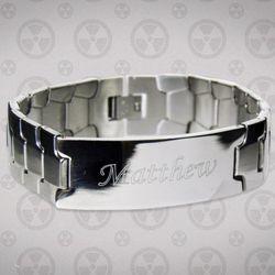 Foxx Men's ID Bracelet
