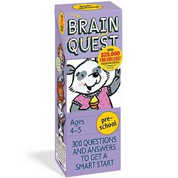 Brain Quest Preschool Card Deck