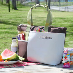 Insulated Summertime Picnic Tote