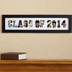 Personalized Class of Photo Collage Frame