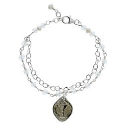 First Communion 2-Strand Bracelet