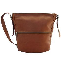 Saddle Leather Bucket Shoulder Bag