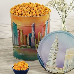 Chicago Skyline Popcorn Tin