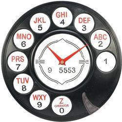 Rotary Phone Dial Wall Clock