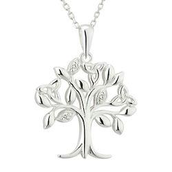 Irish Tree of Life Sterling Silver Pendant