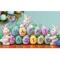 Resin Easter Egg TableTop