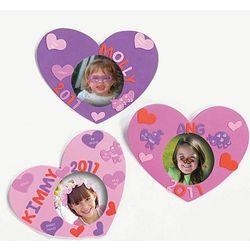 Valentine Foam Photo Frames