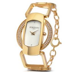 Swarovski Crystal Bracelet Dress Watch