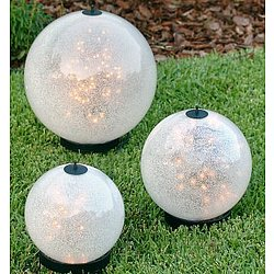 Luna Lanterns with Sparkle Globe