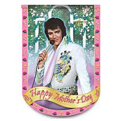 Elvis Presley Happy Mother's Day Flag