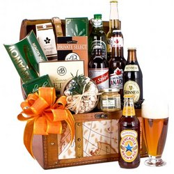 International Beer Gift Basket